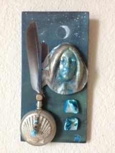 Moon Goddess Collage 2014