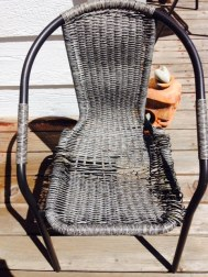 Broken Lawn Chair