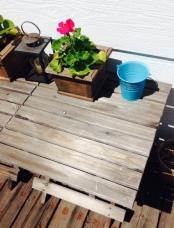 Weather Beaten Side Tables