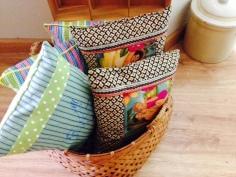 Basket of Pillows