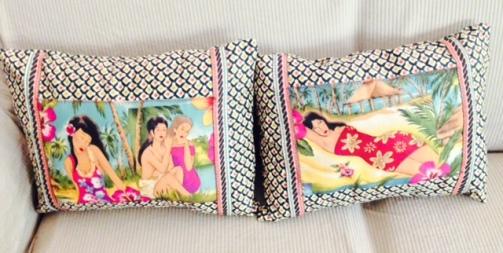 Tropic Island Pillows