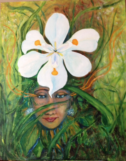 Fairy Iris Deva