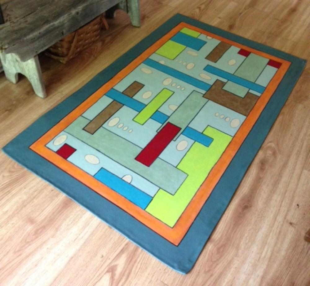 custom floorcloths painted things floorcloth floors all floor cloths swirl