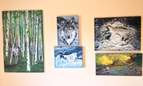 Wolf Series_Front Room Gallery 2018
